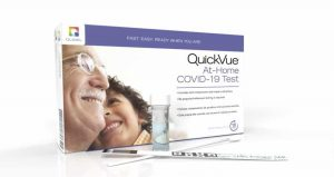 QuickVue At-Home COVID-19 Test